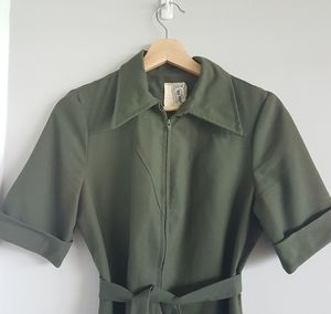 Vintage House of Nu-Mode Union Made Dress Medium